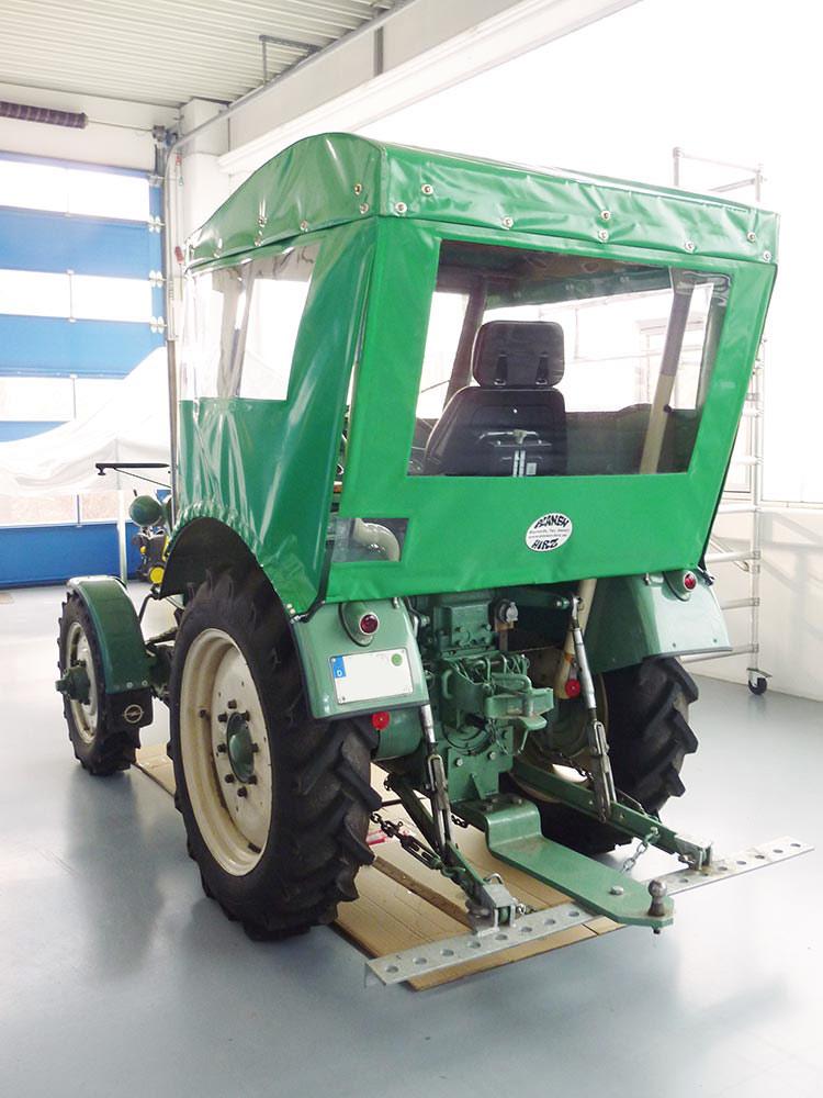 Traktor verdeck
